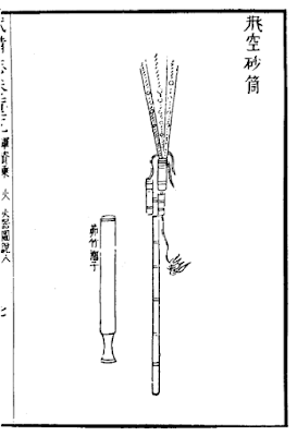 Ming Dynasty Sand Rocket