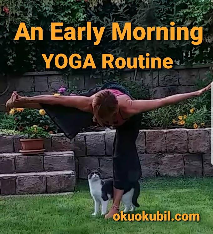 Sabahın İlk Saatlerinde Yapılacak 4 Yoga Rutini