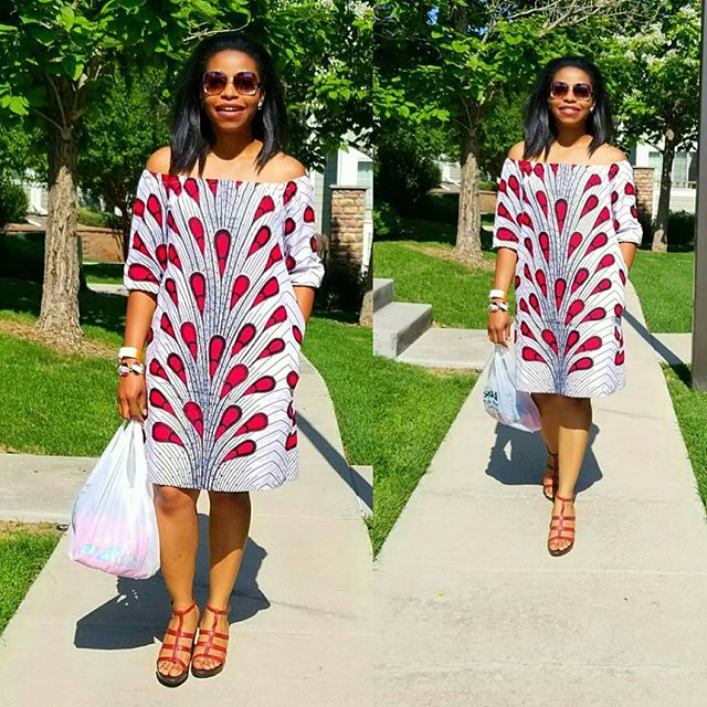 Freestyles Ankara Short Gown Styles Simple Gown Styles Dezango