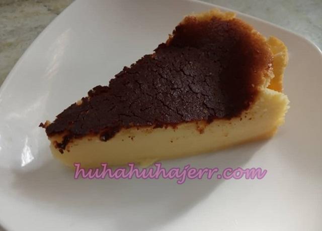 Resepi Burnt  Cheesecake Pasti Menjadi, Mudah Membuatnya, Alahai...