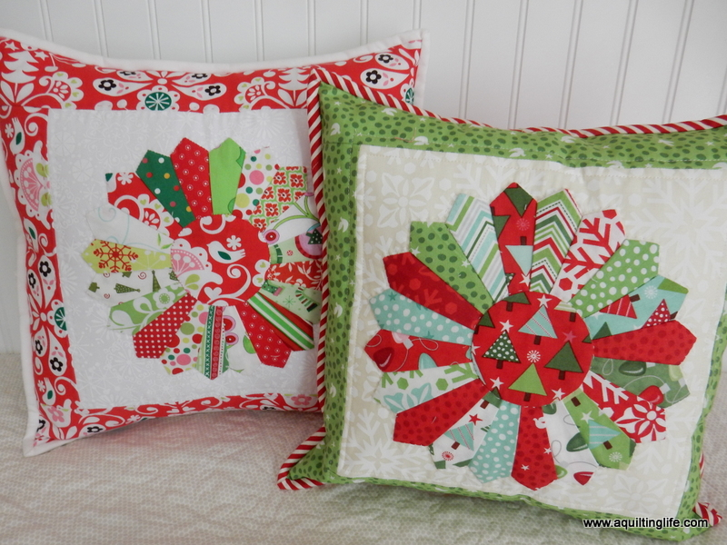 Quilted Christmas Pillows | A Quilting Life - a quilt blog : quilted christmas - Adamdwight.com