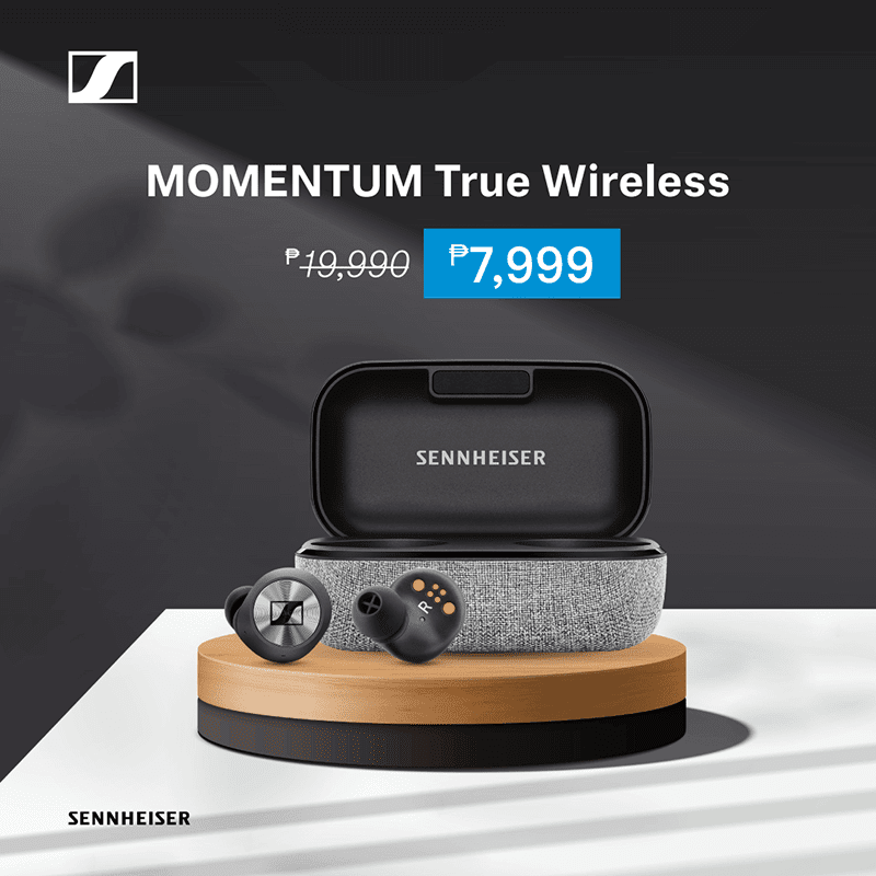Deal: You can now get Sennheiser MOMENTUM True Wireless earphones for just PHP 7,999!