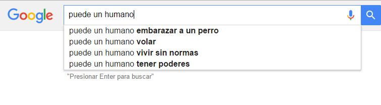 sugerencias de busqueda en google