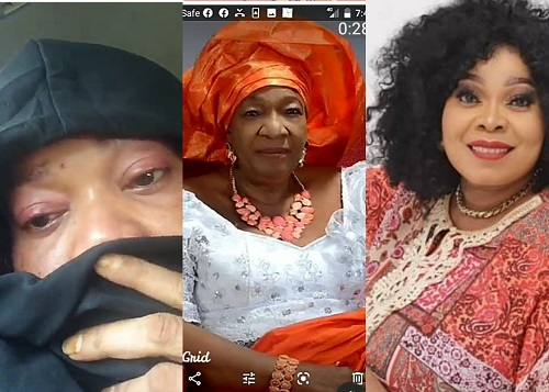 Nollywood actress Chinyere Wilfred loses mum