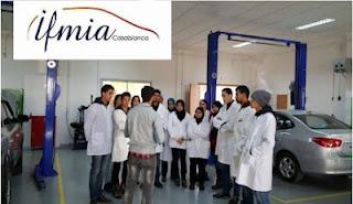 مبارة ولوج المعهد التكوين مهن صناعة السيارات بالدارالبيضاء 2021-2022 IFMIA Casablanca