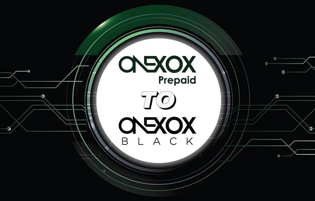 Tukar Pelan Onexox Prepaid ke Onexox Black