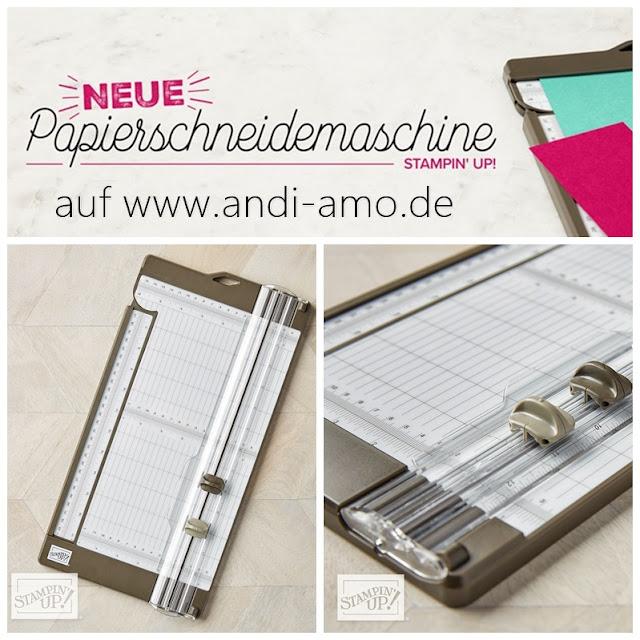 Neue Papierschneidemaschine von Stampin Up