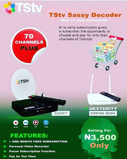 TStv Sassy Decoder to Feature A' La Carte Subscription Model