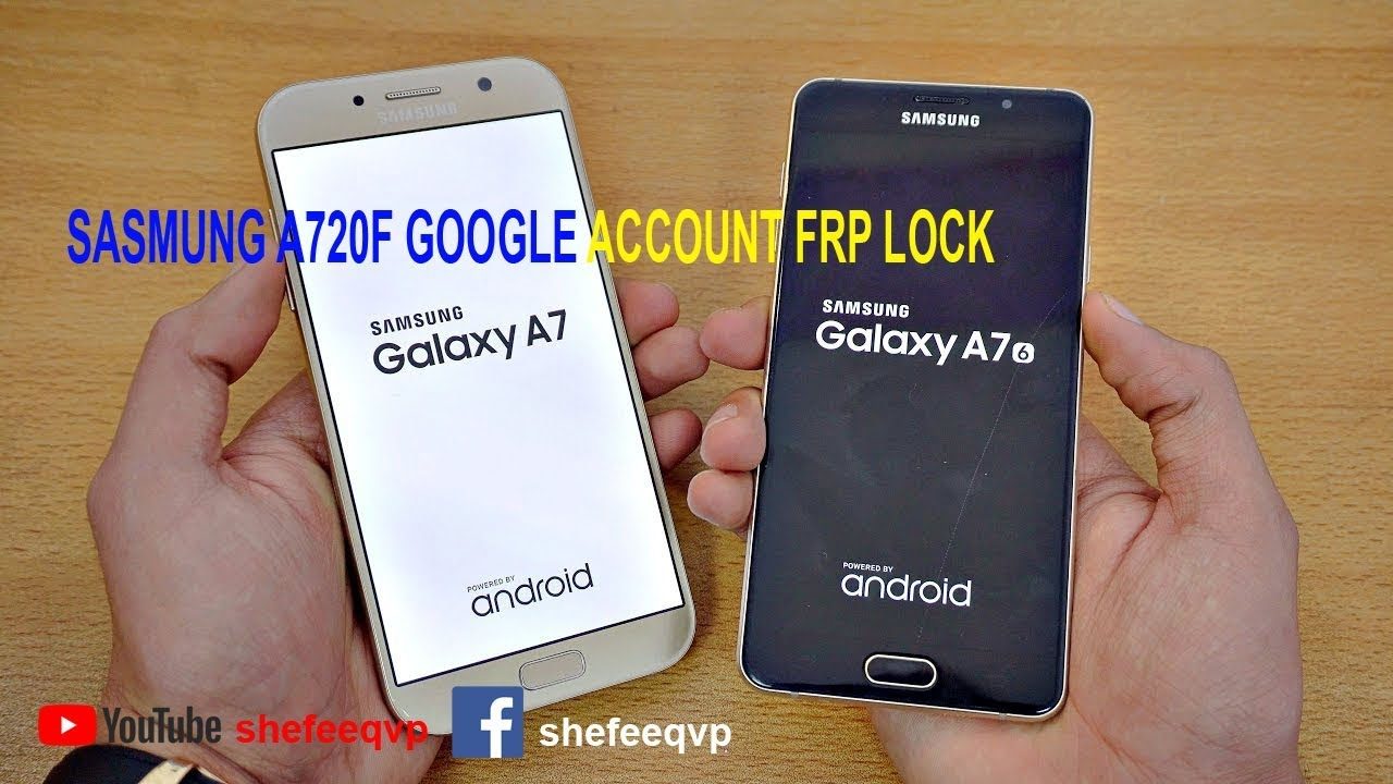 Samsung Galaxy A7 A720S, A720L, A720K Remove FRP Please call me, fix DRK  OEM ON FRP ON
