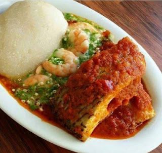 Conventional West African fufu is made by boiling starchy foods as cassava, yam, plantain or rice then pounding them into a gummy yummy mass. Fufu is a staple food to Western and Central Africa and  is what mashed potatoes are to traditional American cooking.