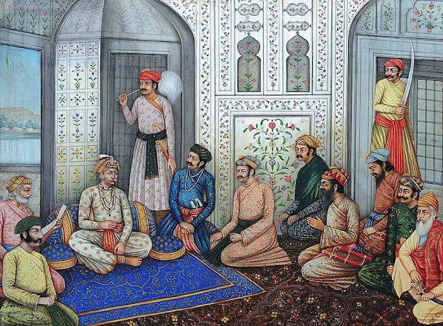 akbar-with-his-nine-courtiers