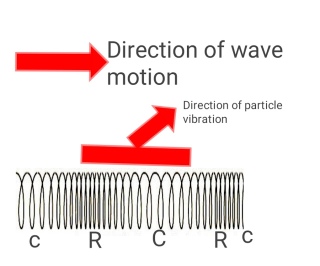 formation of longitudinal wave