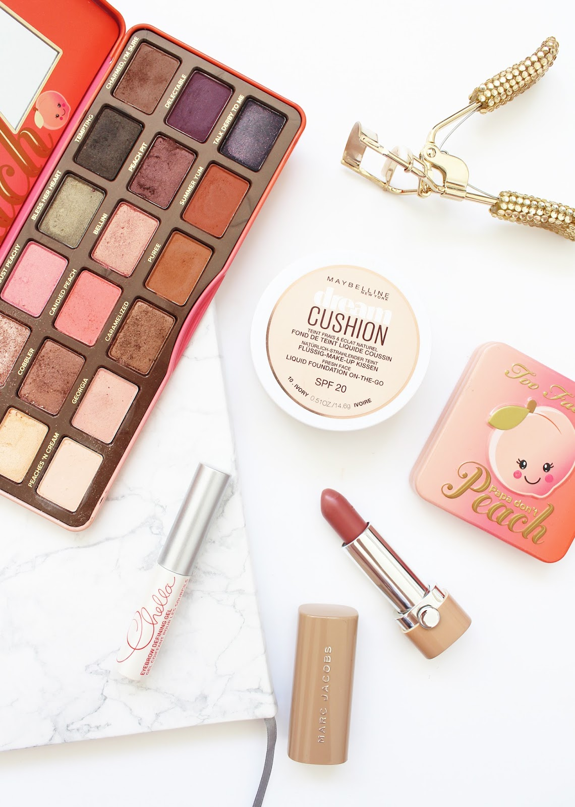 MOST LOVED | February '17 - Too Faced, Chella, Maybelline, Marc Jacobs -  CassandraMyee