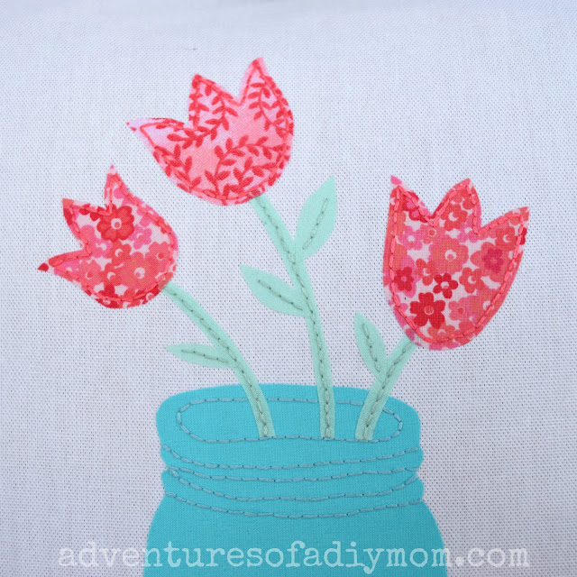How to Applique Fabric using Iron-on Adhesive