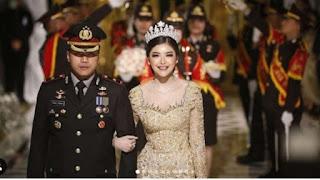 Kapolsek Kembangan Gelar Pernikahan Mewah di Tengah Wabah Corona