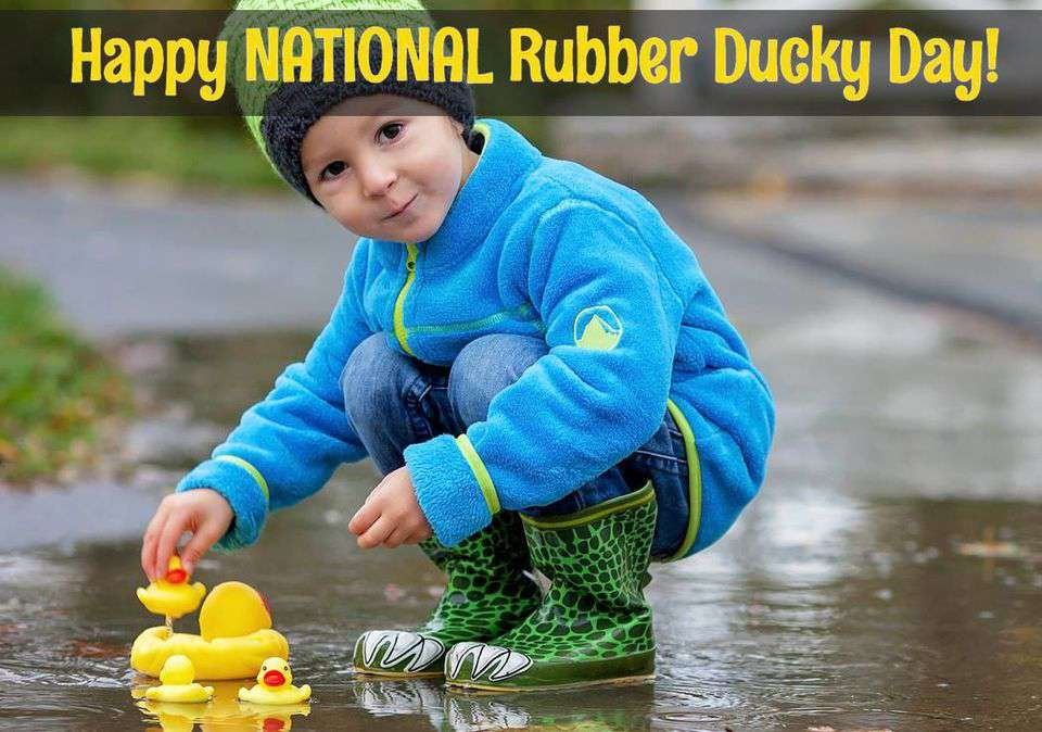 National Rubber Ducky Day Wishes Images