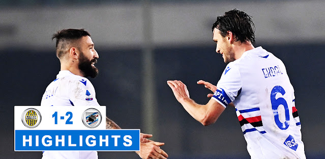 Hellas Verona vs Sampdoria – Highlights