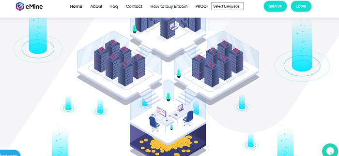 Emine.to Review: Cloud Mining Company! Earn 3.6% Daily Profit For 60 Days, Instant Withdrawals