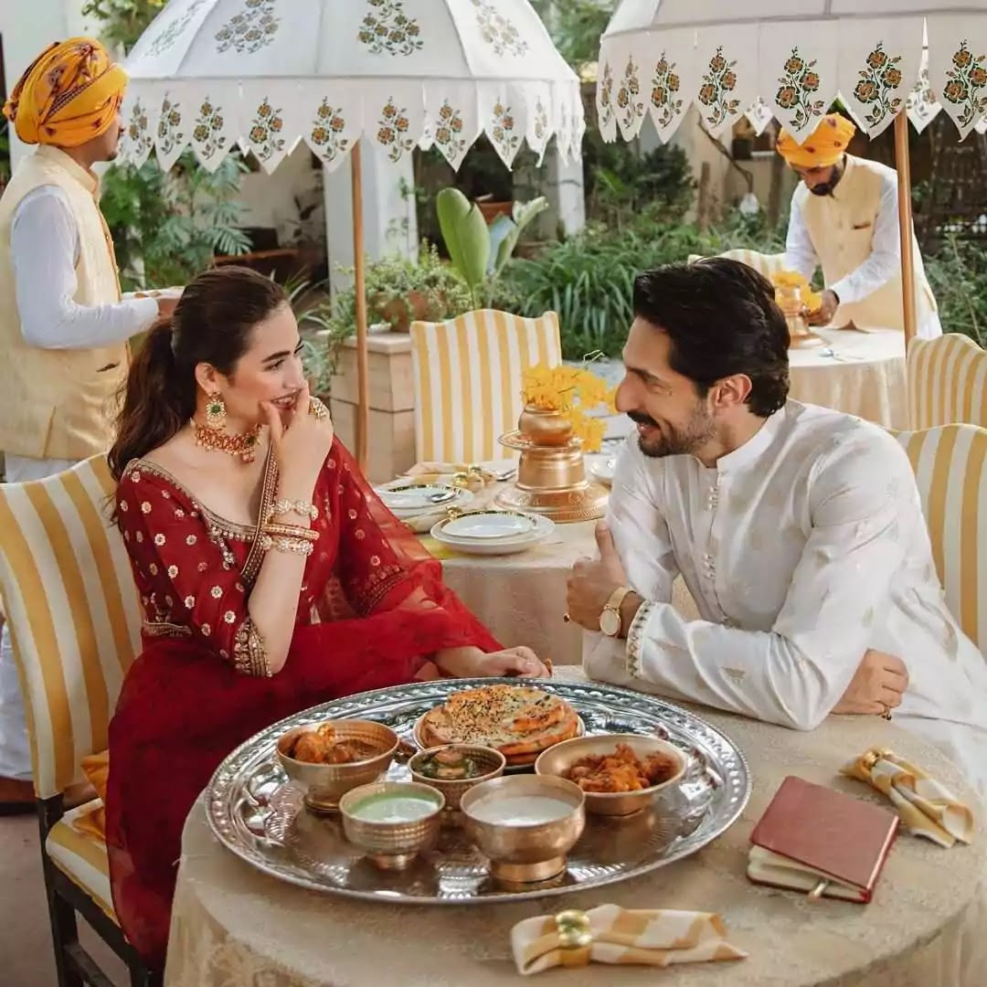 Sana Javed And Bilal Ashraf Looking Absolutely Gorgeous In Their Latest Photoshoot
