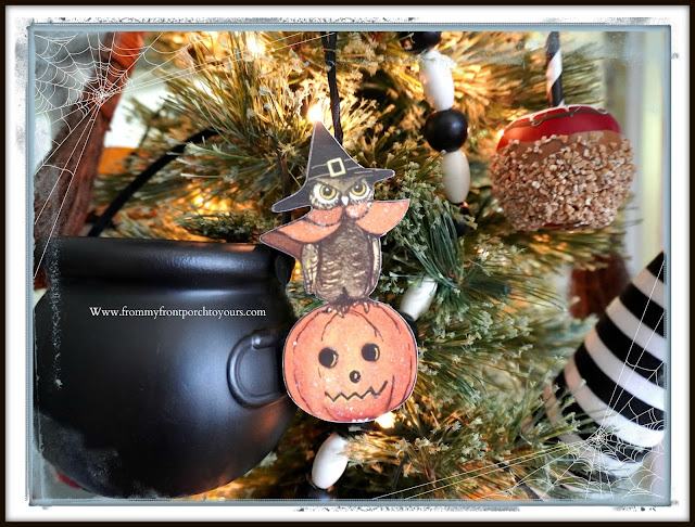 Fun Vintage Halloween Festive Christmas Tree-Bethany Lowe-From My Front Porch To Yours