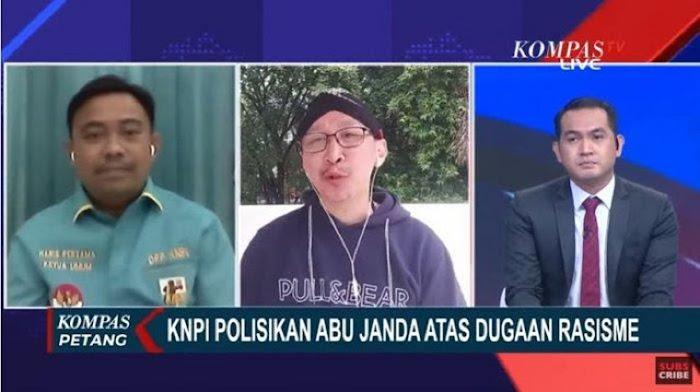 Abu Janda Berkali-kali Ditegur Presenter karena Terus Mendebat, KNPI: Harus Disumpal Mulutnya