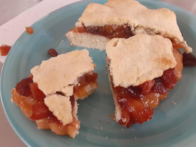 Peach Szarlotka (Polish Apple Pie)