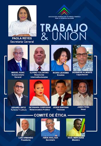 Plancha Trabajo y Unión ADOMPRETUR La Romana