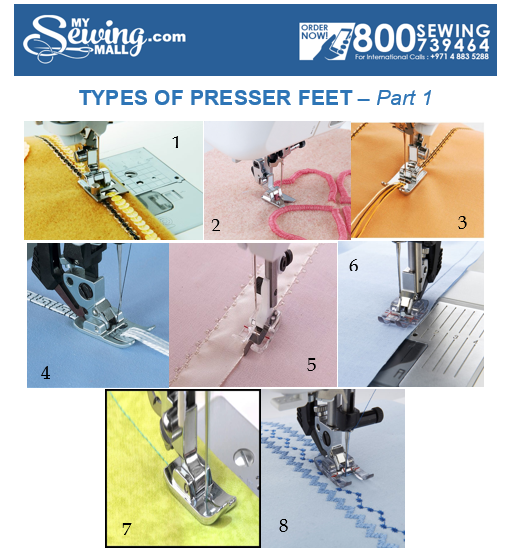 Types Of Presser Feet Part 40 Gorgeous Types Of Sewing Machine Feet