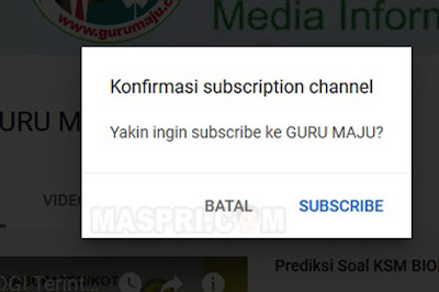 Cara Membuat Link Subscribe Youtube Otomatis