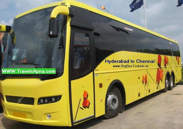 Hyderabad to Chennai - Bus Tickets - Train Tickets ...