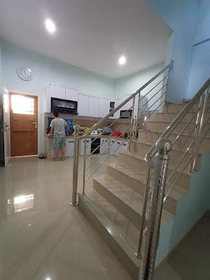 Dapur RUMAH MURAH SEMI FURNISHED DEKAT PINTU TOL H. HANIF - 2,5 Lantai - sekitar Jalan Pancing Medan - Komplek Budi Utomo Mediterania