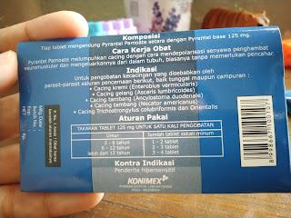 Aturan pakai konvermex obat cacing keluarga