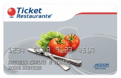 TICKET RESTAURANTE ACCOR SALDO