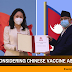Following China's allocation of 30,000 liters liquid oxygen, is Nepal considering vaccine assistance?
