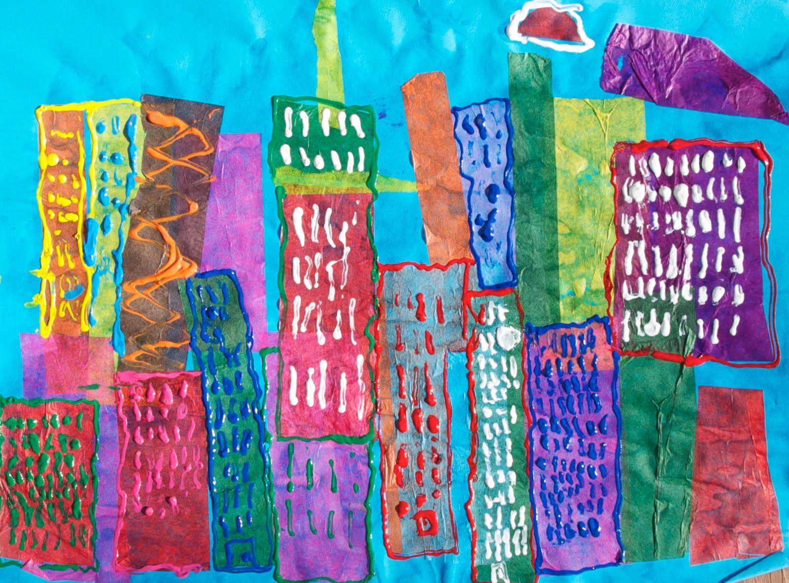 Art Classes For Homeschool Students Paul Klee Abstract Cityscape
