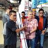 Ketua DPRD Fikar Azami Serahkan Bantuan Untuk Korban Kebakaran di Kumun