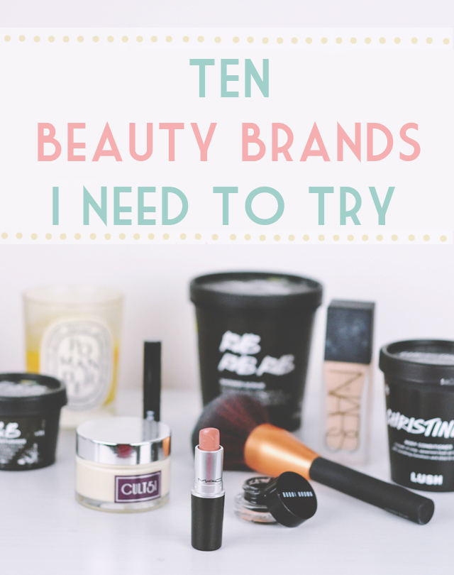 Best beauty brands to try