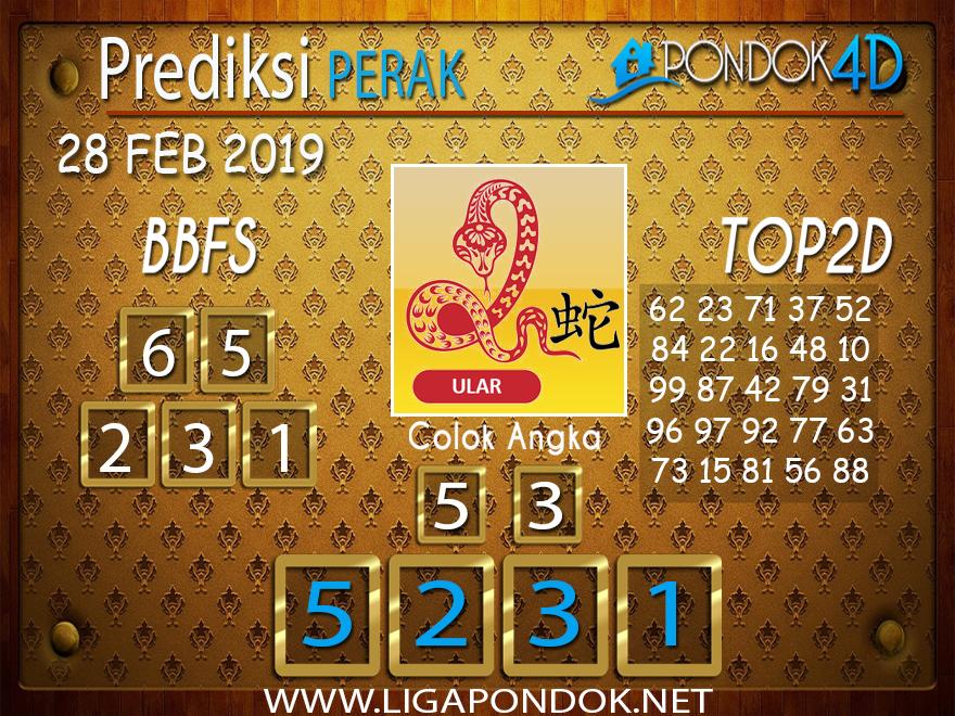 Prediksi Togel PERAK PONDOK4D 28 FEBRUARI 2019