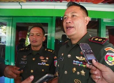 Dandim 1408/BS Makassar, Kolonel Infanteri Jefri Oktavian Rotty.