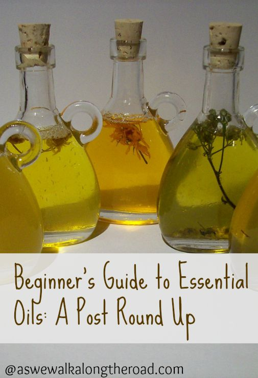 Learning to use essential oils