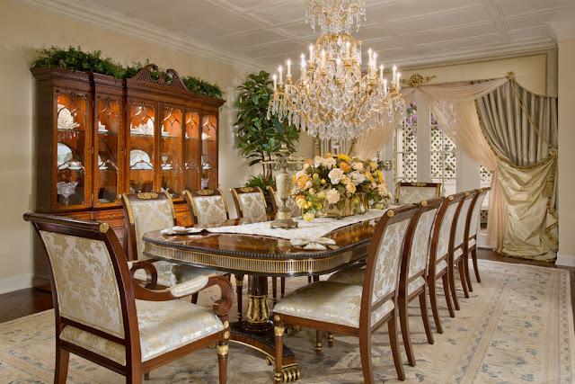 Salles à manger traditionnelles et formelles