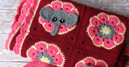 How To Crochet Elephant Edging - Pretty Ideas | 226x430