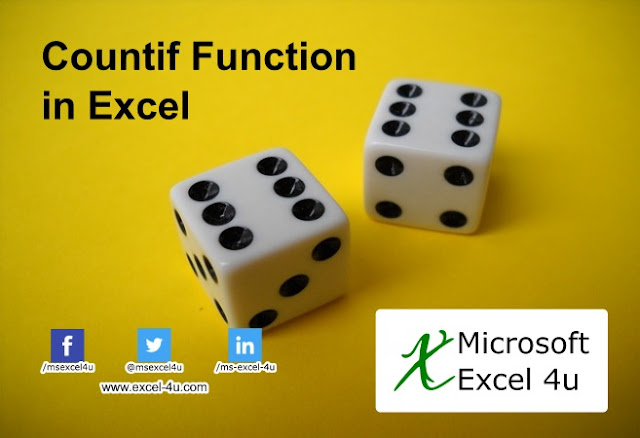 Count if function in excel