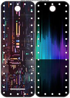 Marcapáginas para imprimir gratis para Fiesta de Pixels de Videojuegos.