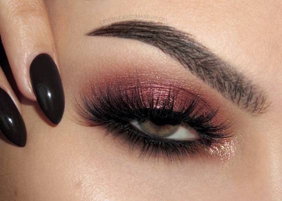 Makeup Look NARS Wanted Blinking Beaute Bombesque Loreal Vernis Atelier Choco Valentine Day