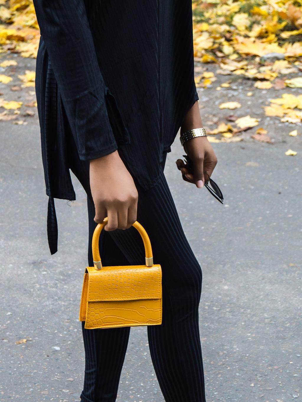 Mini bag street fashion