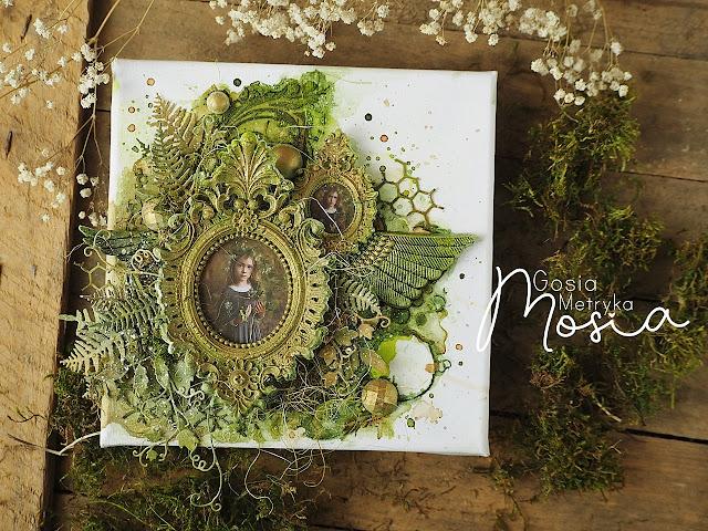 Leśna dziewczynka / A forest girl