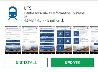 railway genral train ticket online kese book kare
