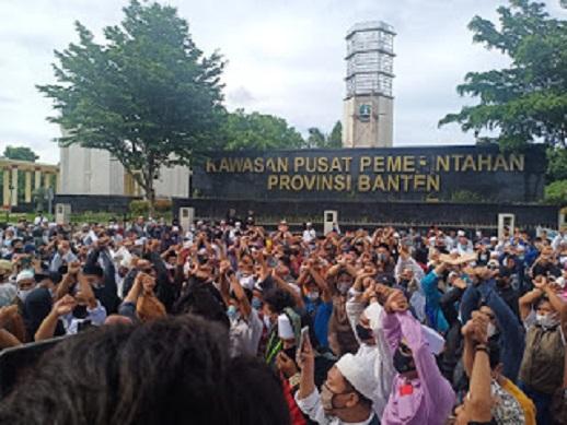 Ribuan Muslim Banten Dukung Komnas HAM Usut Tuntas Penembakan 6 Laskar FPI