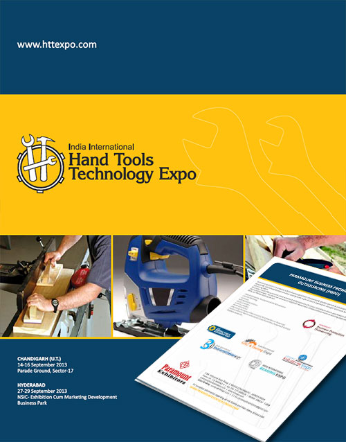 Brochure design- hand tools